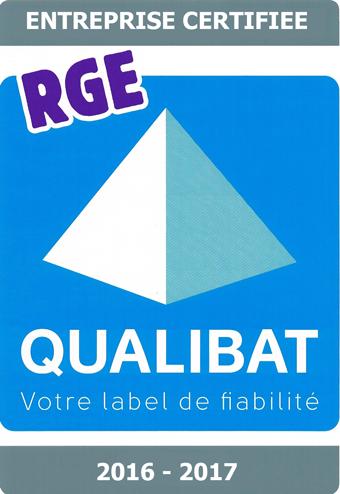 RGE Qualibat 2016 2017